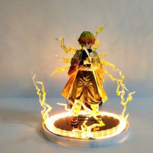 Agatsuma Zenitsu Thunderclap Action Figure Official Demon Slayer Merch