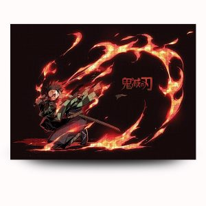 Fire Breathing Puzzle Official Demon Slayer Merch