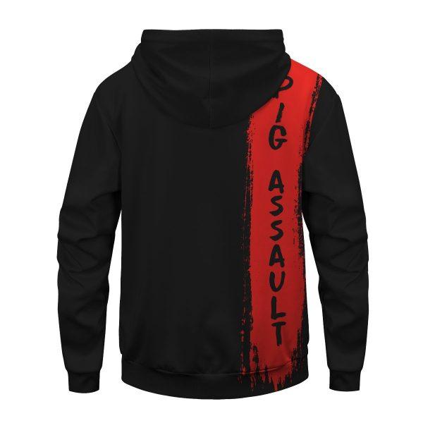 Inosuke Hashibira Unisex Pullover Hoodie Official Demon Slayer Merch