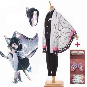 Demon Slayer Cosplay Shinobu Without Wig / S Official Demon Slayer Merch