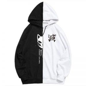 Demon Slayer Hoodie  Tanjiro Streetwear Black / S Official Demon Slayer Merch
