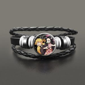 Demon Slayer Bracelet  Zenitsu & Nezuko Default Title Official Demon Slayer Merch