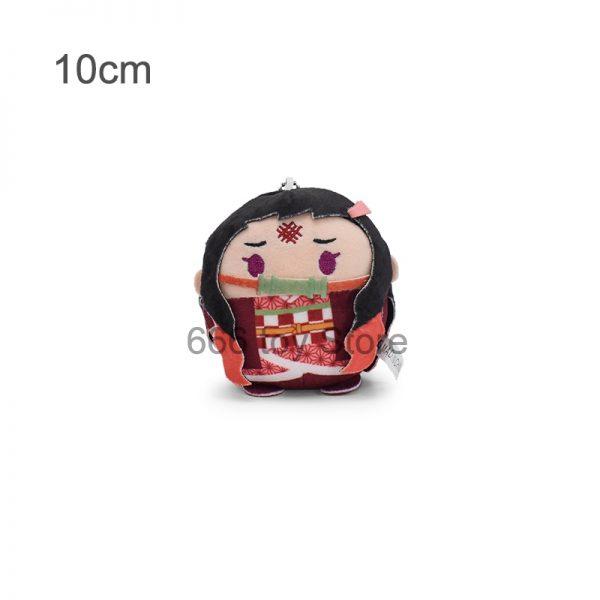 4 Styles Anime Demon Slayer Figure Doll Kimetsu No Yaiba Agatsuma Zenitsu Nezuko Hashibira Plush Toys 1 - Demon Slayer Shop