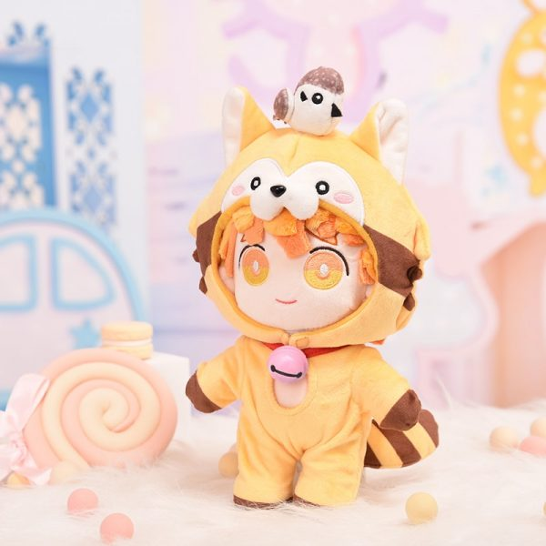 Anime Demon Slayer Kimetsu no Yaiba Hashibira Inosuke Cute Cosplay Plush Doll Cushion Dress Up Clothing 1 - Demon Slayer Shop