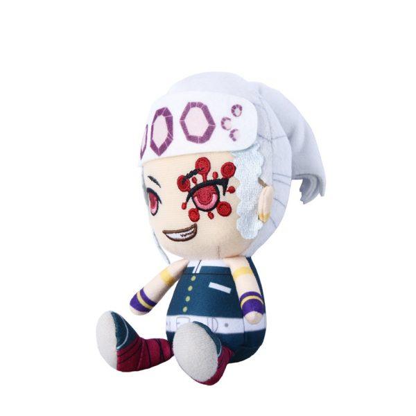 Takerlama 1PCS 16cm Anime Plush Doll Demon Slayer Kimetsu no Yaiba Uzui Tengen Plush Pendant Toys 1 - Demon Slayer Shop
