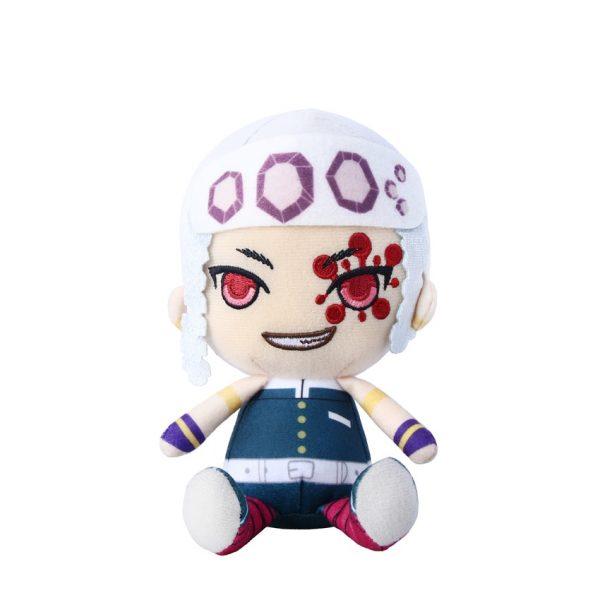 Takerlama 1PCS 16cm Anime Plush Doll Demon Slayer Kimetsu no Yaiba Uzui Tengen Plush Pendant Toys - Demon Slayer Shop
